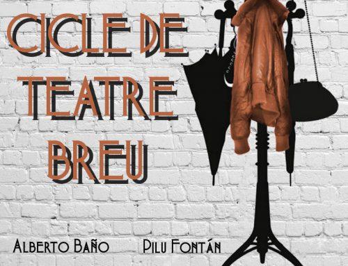 Ciclo de Teatro Breve en Valencia. CULTURA ALS BARRIS
