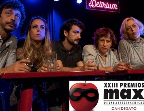 Delirium, candidato a Premio MAX 2020