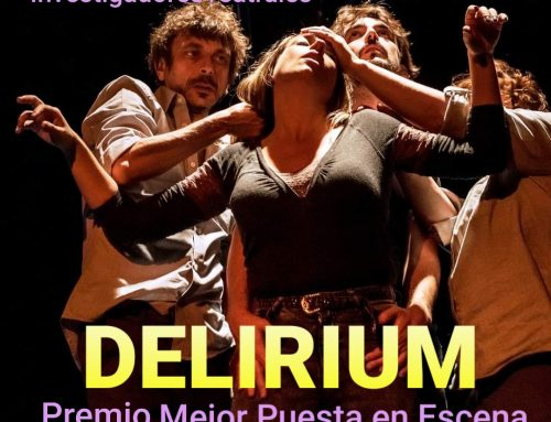 Premio a mejor puesta en escena por DELIRUM